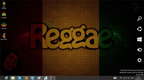 Reggae Rasta Theme