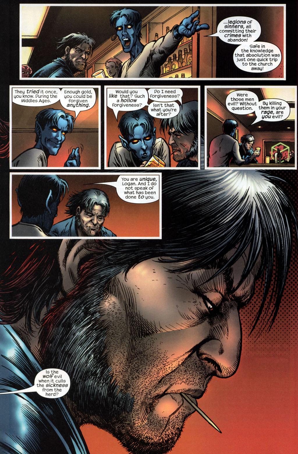 Read online Wolverine (2003) comic -  Issue #6 - 21
