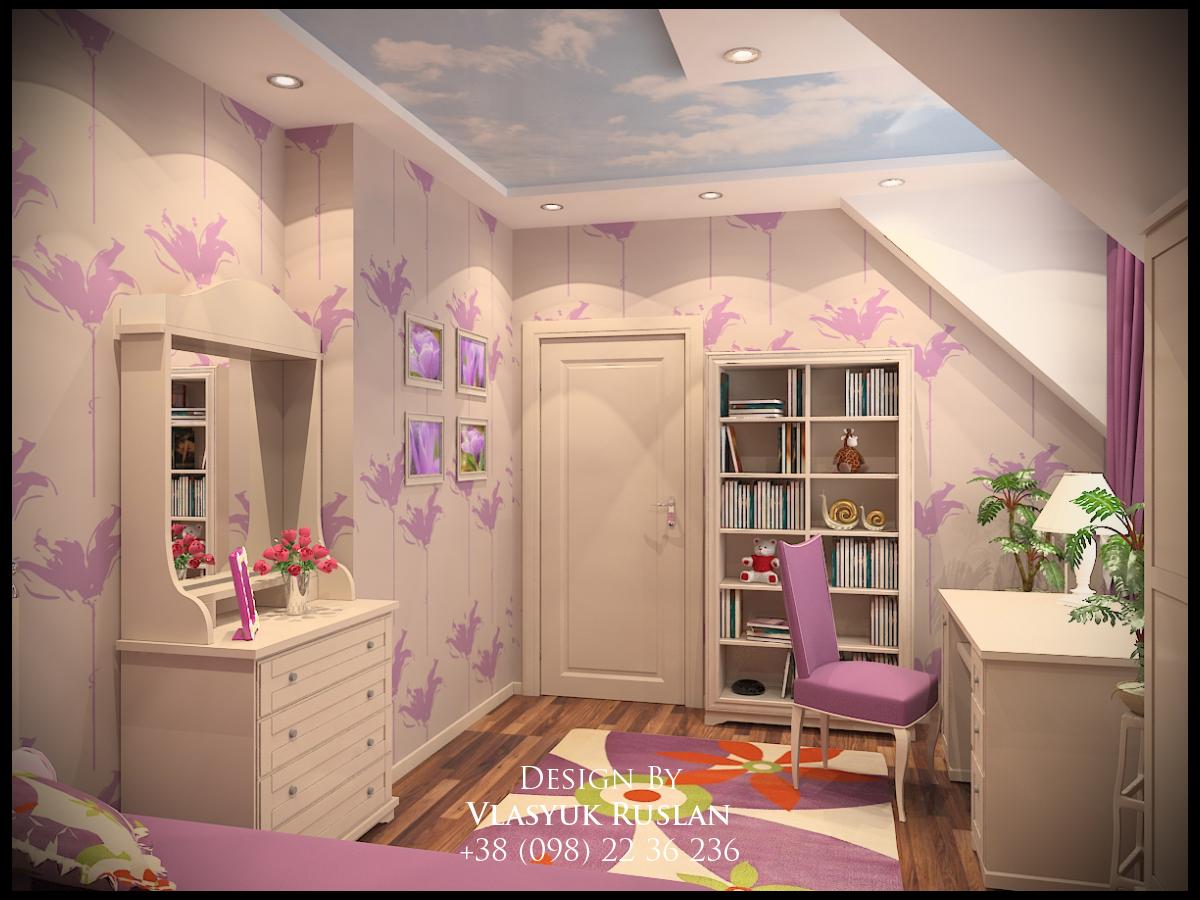 Дизайн інтер єру дитячої кімнати