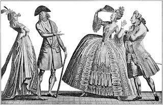 Entre la imagen de la derecha (1778) y la de la izquierda (1793) distan sólo 15 años
