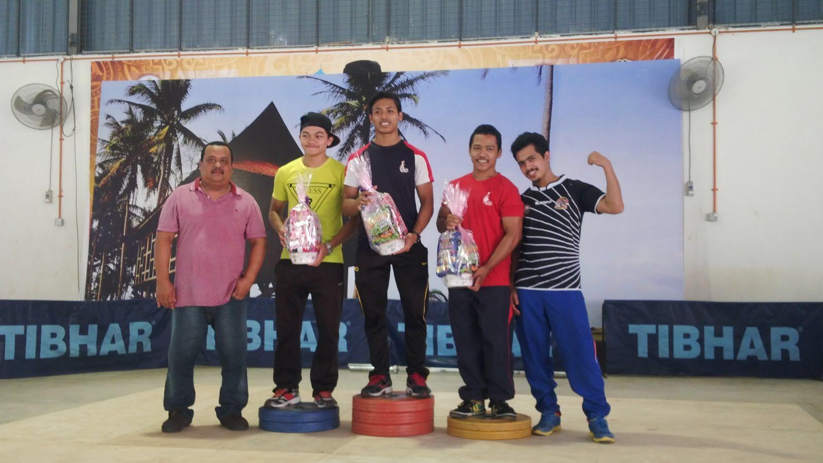 Pemenang 69 kg....