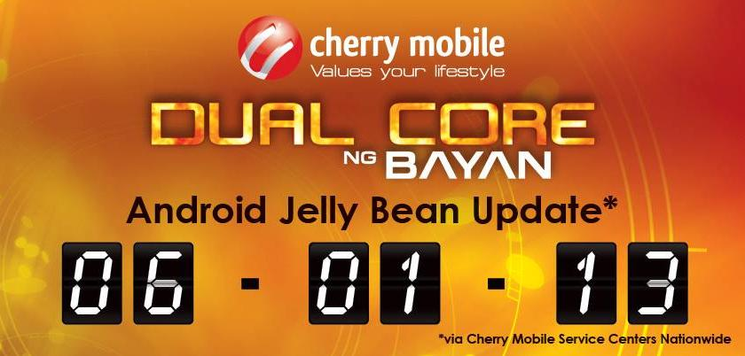 for FLARE upgrade to Android Jelly Bean this coming June 10, 2013
