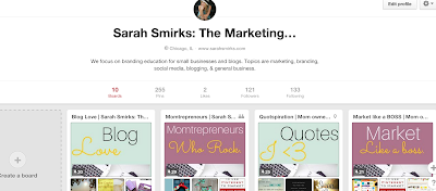 How bloggers and small businesses get found and build traffic through Pinterest.  These four tips will optimize your profile to get your found easier.  Post by Sarah Smirks