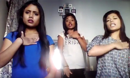 """Tamil songs Mime Through Time Tamil Girls """"KTS"""""""