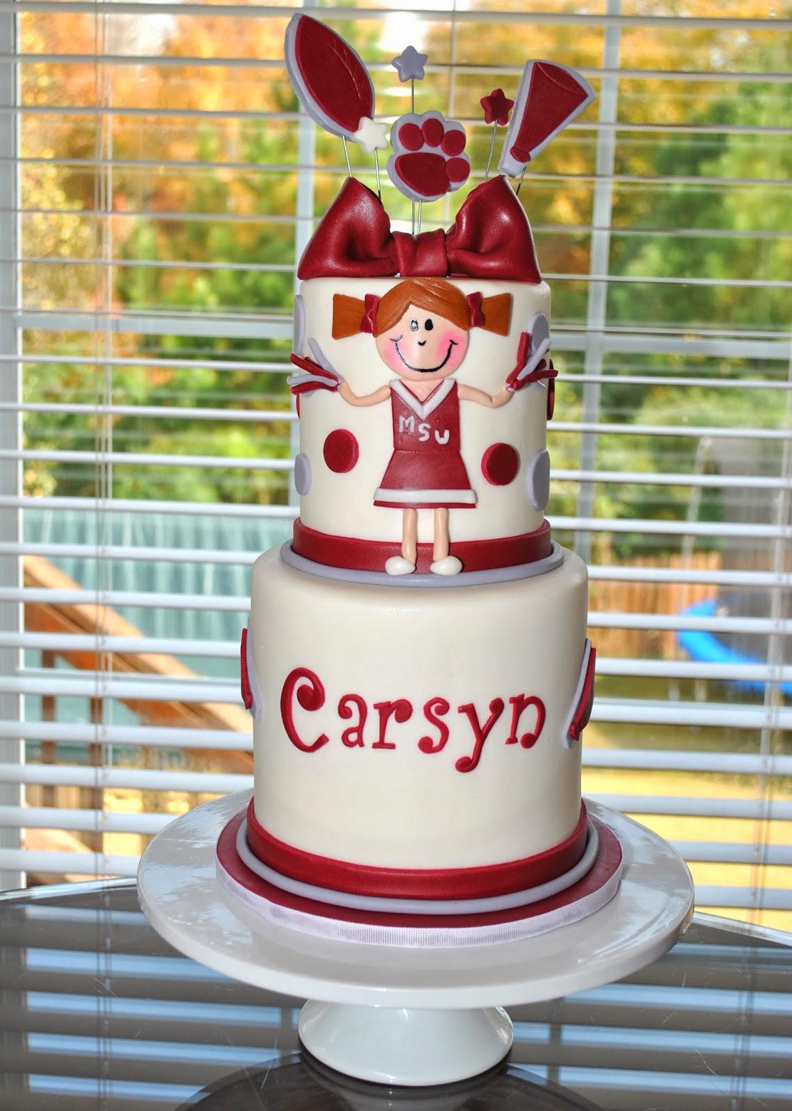 Mississippi State University Birthday Cakes