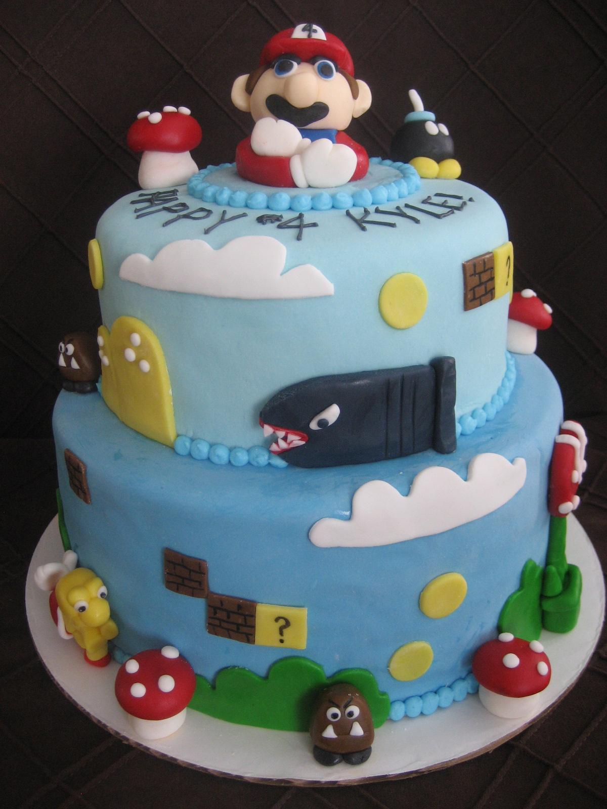 Beni Cakes Mario Cake And Cupcakes