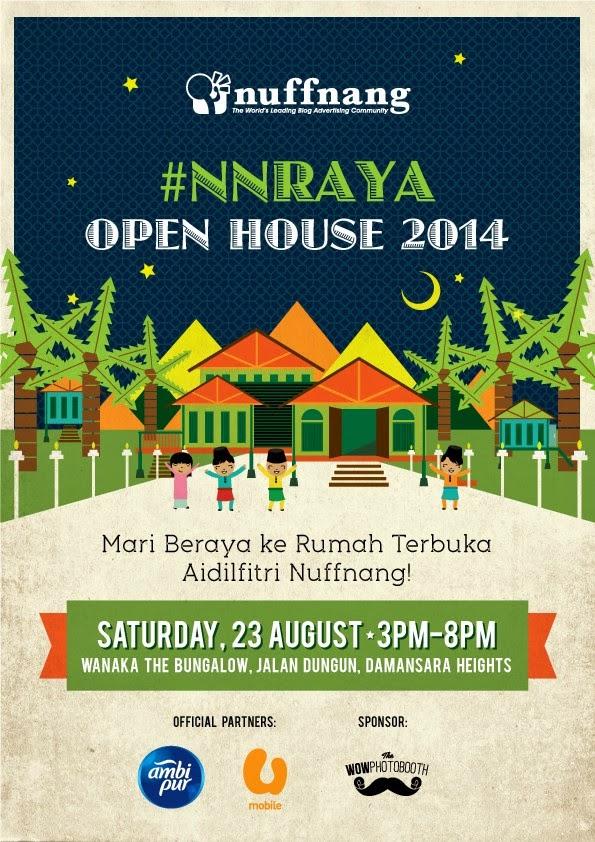 Nuffnang Raya Open House 2014 Nnraya Life Is An Interesting Journey
