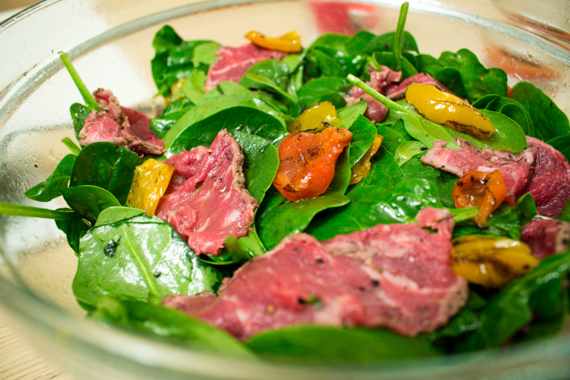 Beef Carpaccio Salad | Svelte Salivations