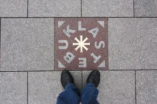 Vilnius, Vilna, Lituania, Plaza de la Catedral, Stebuklas