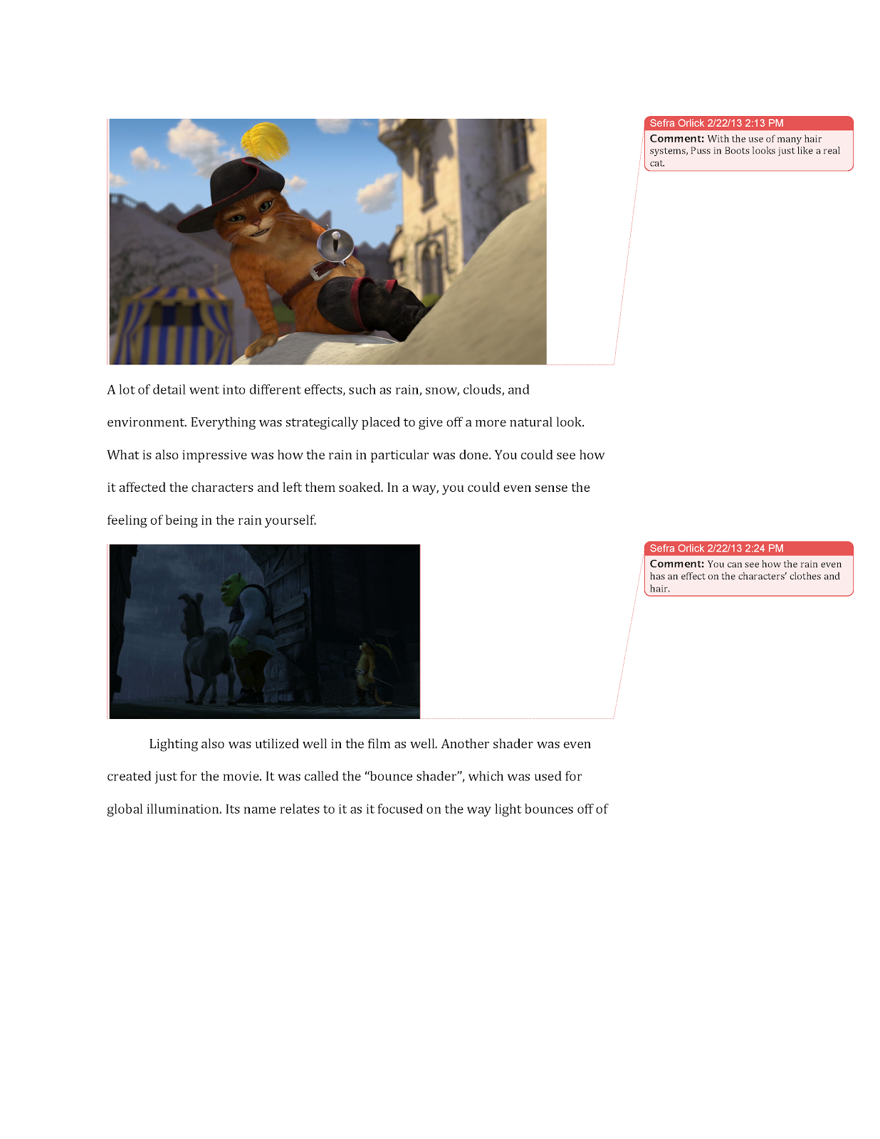 3d computer animation 2013 updated essay