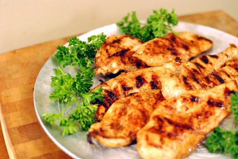 Pantry Raid Grilled Chicken
