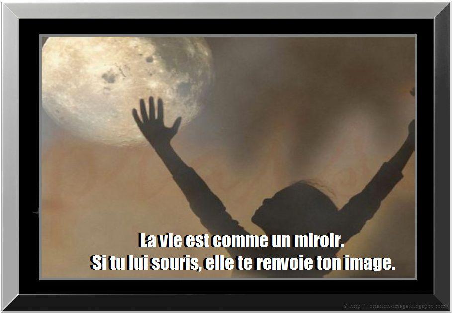 Drunkethic citation notre image for Le miroir de la vie