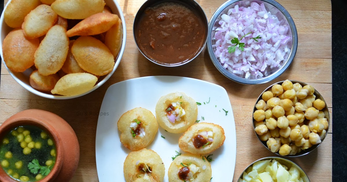 Simpy Recipes Pani Puri The Indian Street Food