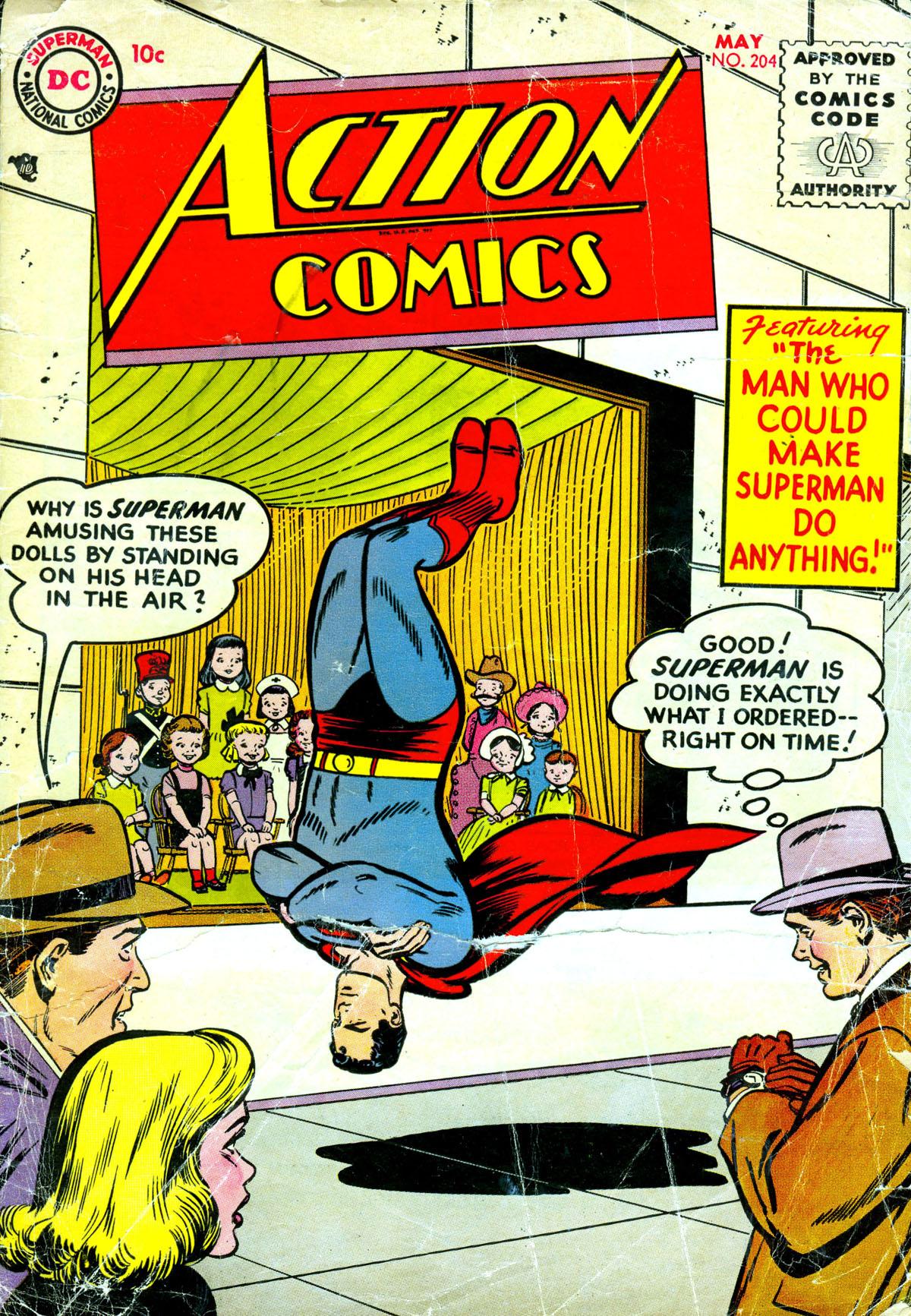 Action Comics (1938) 204 Page 1
