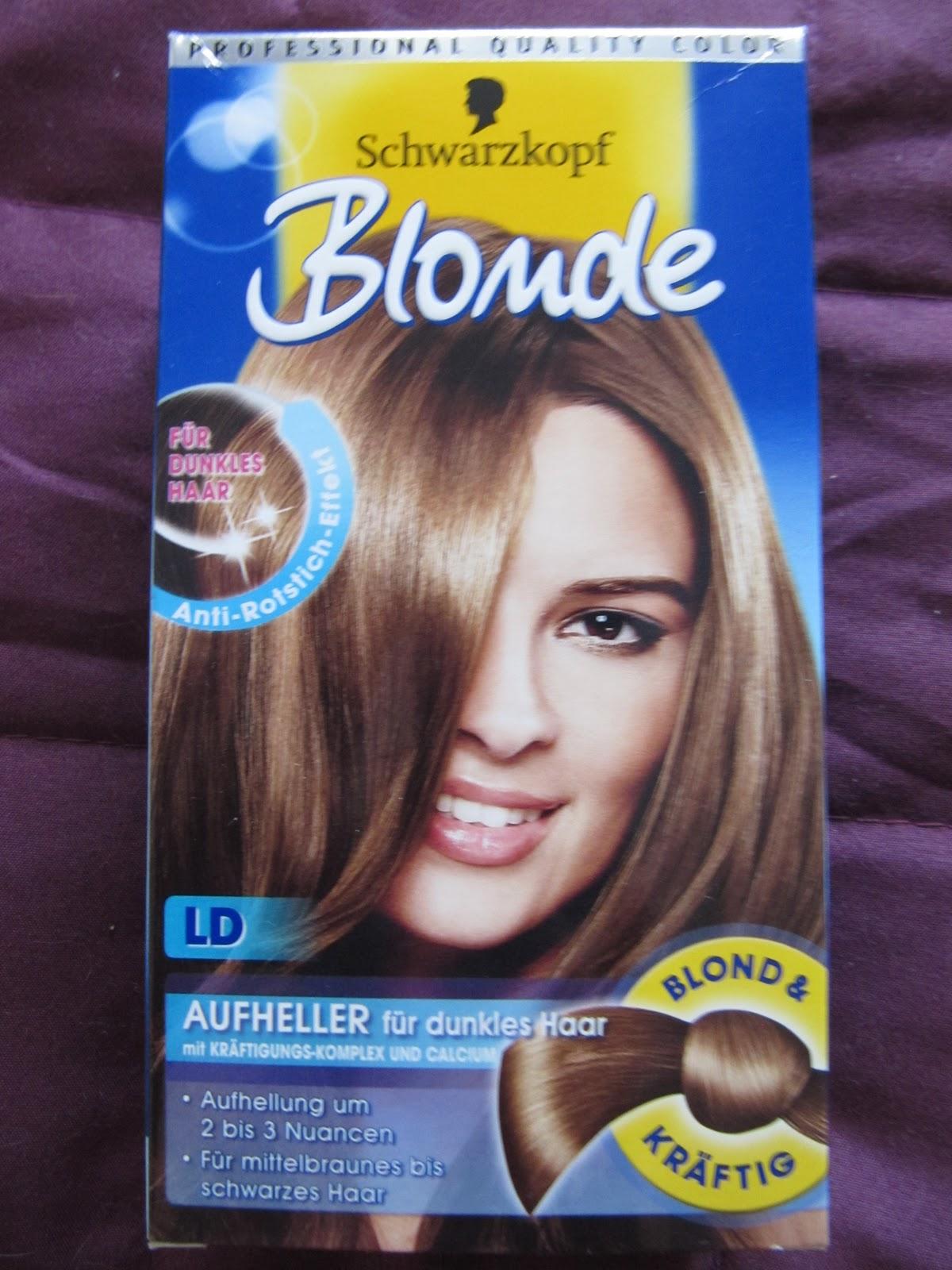 Braun gefarbte haare selbst aufhellen