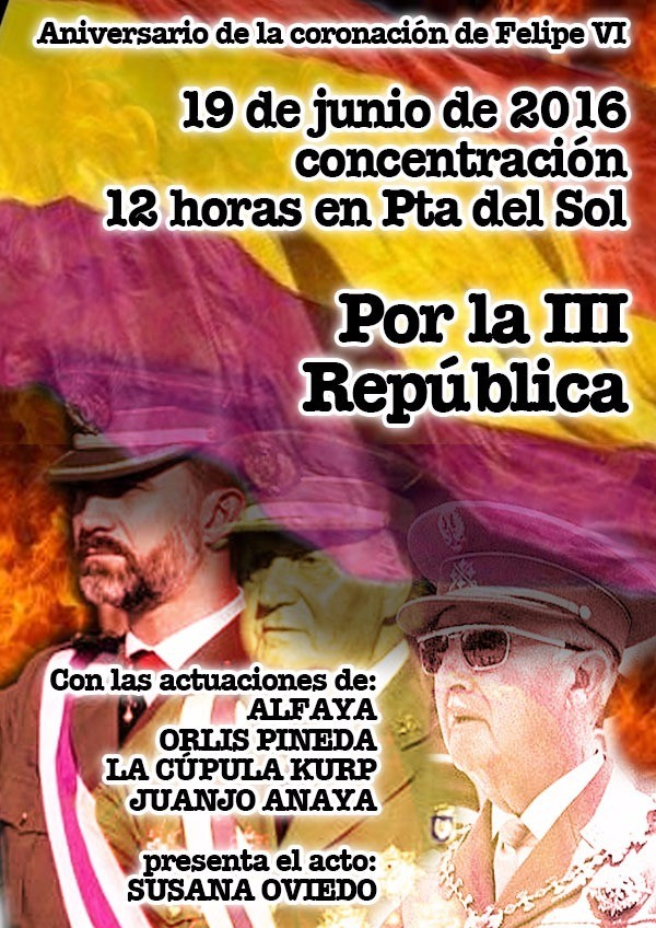 19 junio Por la República