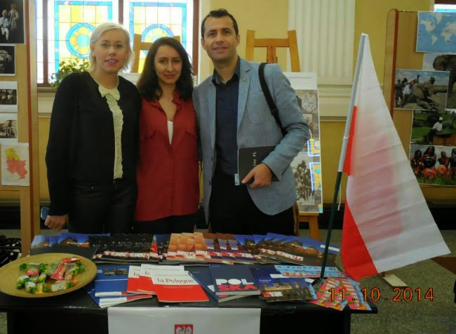 Standul Poloniei la Craiova Multicultural Day