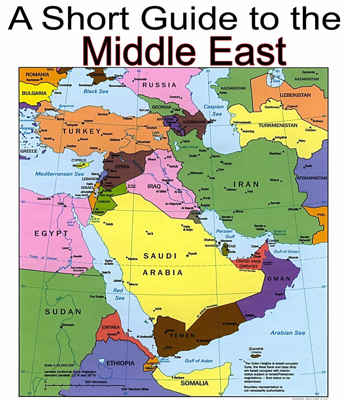 The MiddleEast Conflict