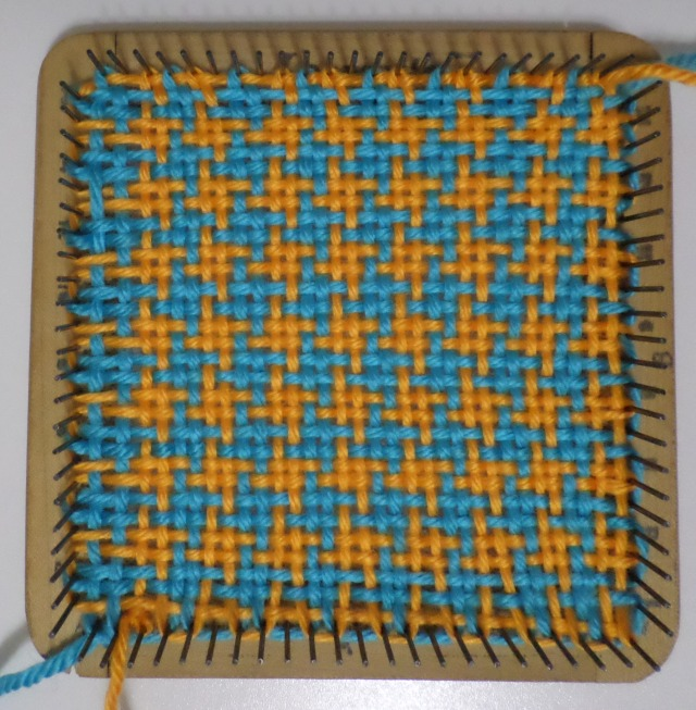 Pin Loom Weaving January 2016