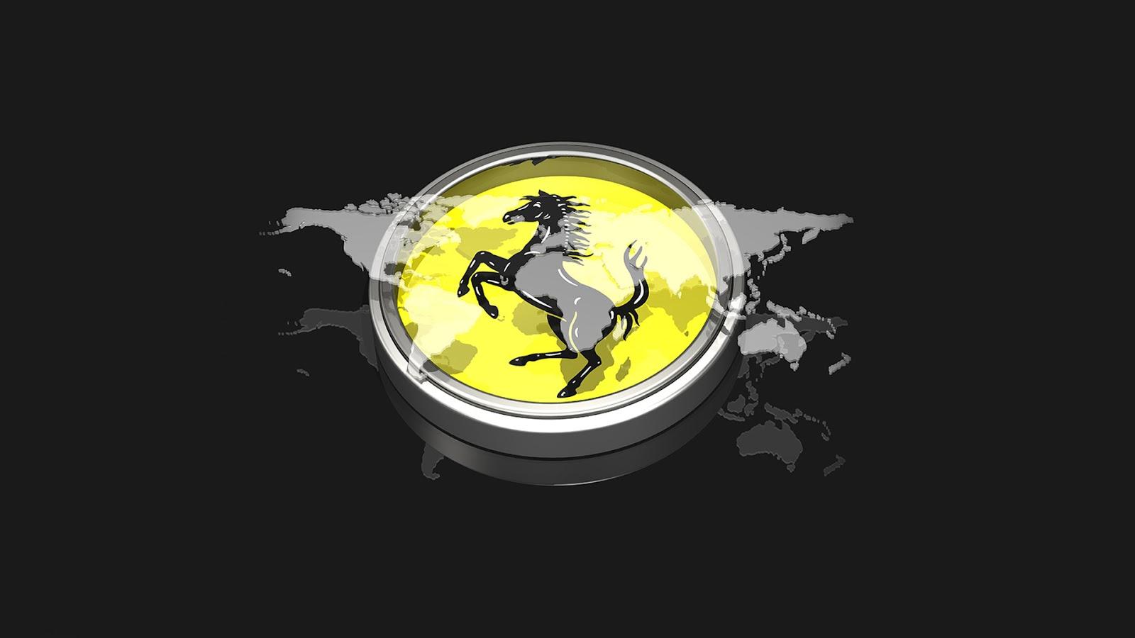 sony hd wallpapers 1080p - Ferrari Logo Wallpaper