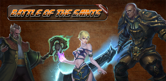 Download Battle Of The Saints I v1.01 Android Apk + Data [Online / Offline / Unlimited Gold]