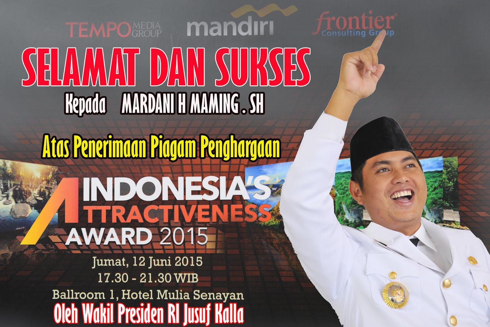Indonesia Atractiveness Award 2015