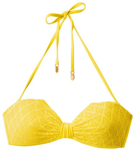 Beyoncé for H&M Summer 2013 - yellow bikini bra