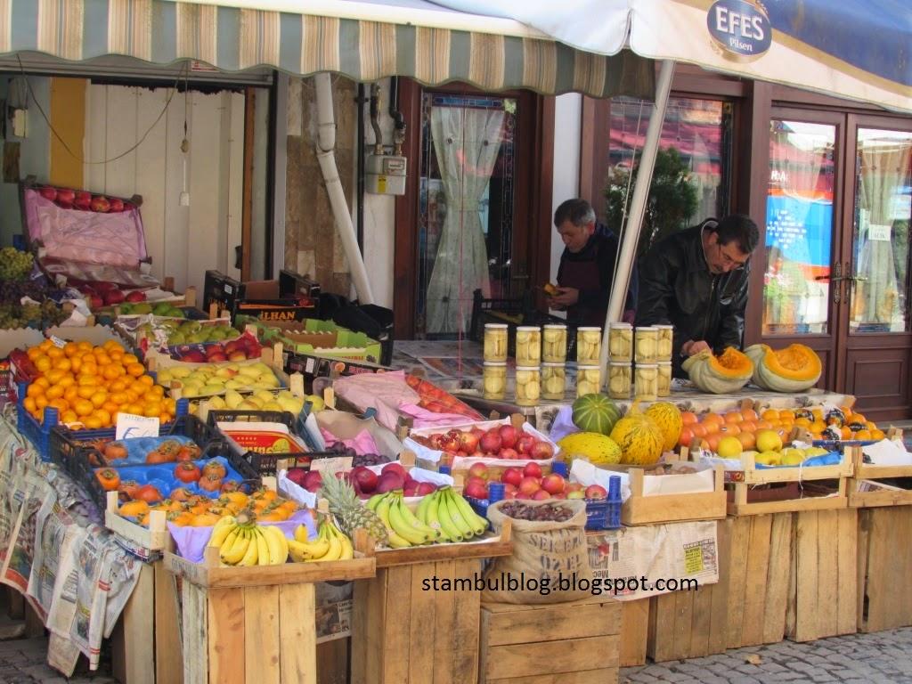овощные магазины в Стамбуле