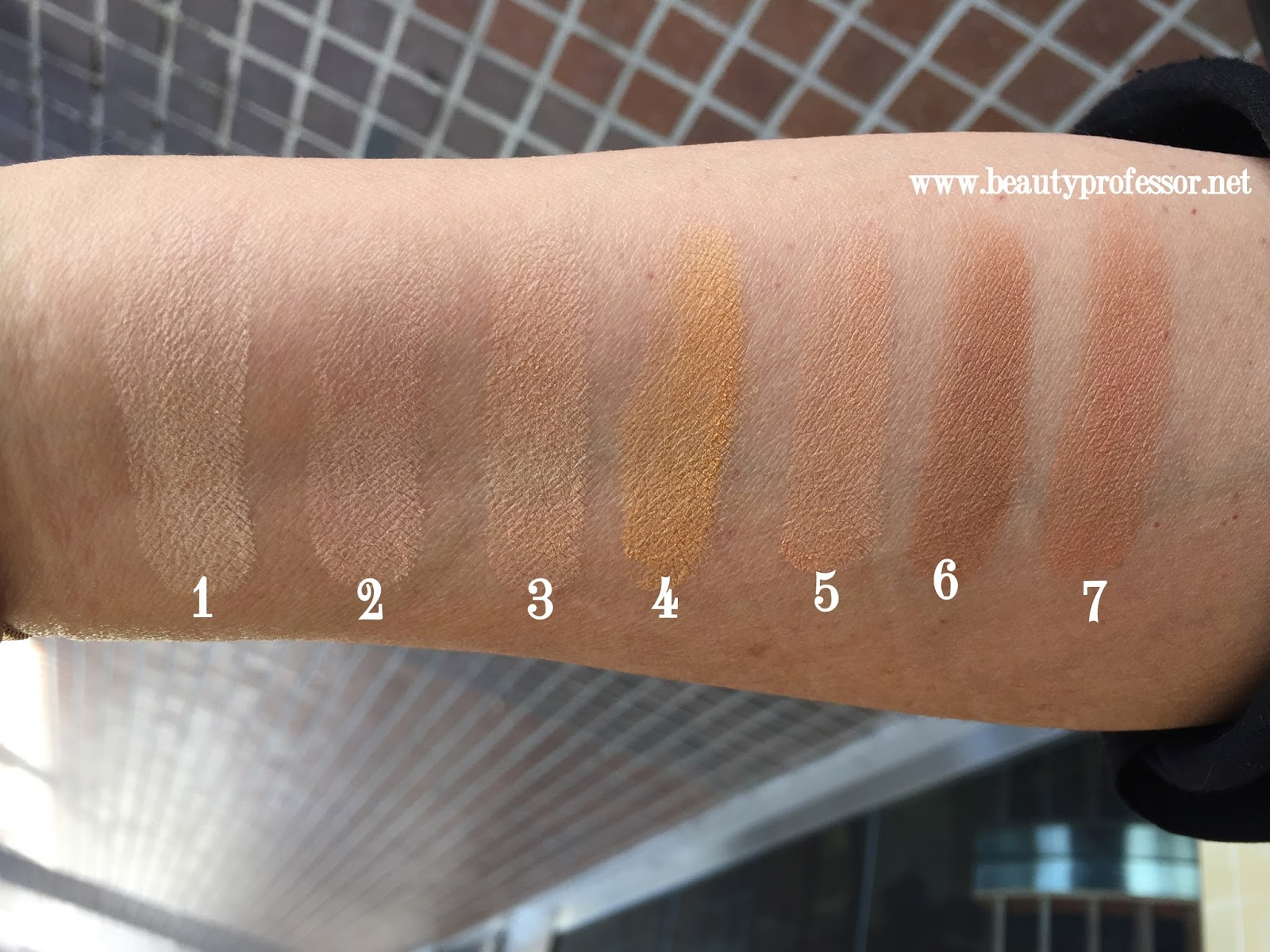 by terry terrybly densiliss powder swatches