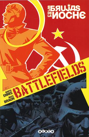 BATTLEFIELD las brujas de la noche de Garth Ennis y Braun, edita Aleta, comic bélico, II Gruerra Mundial, equipos femenios