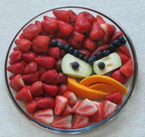 Angry Bird Meyve Salatası