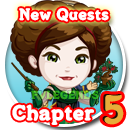 FarmVille Haunted Hollow Chapter 5 (V) Quest Icon