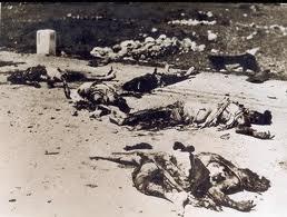 Peperangan pagi itu. terdar puluhan mayat ahli pkm di kem sungai