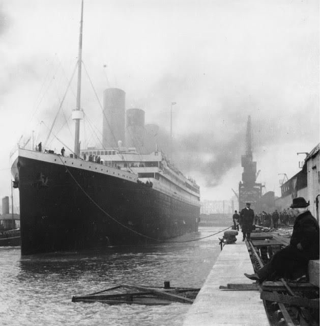 The Titanic Ship Before Sailing