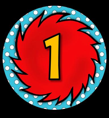 The Teaching Sweet Shoppe!: Dr. Seuss Student Numbers FREEBIE!