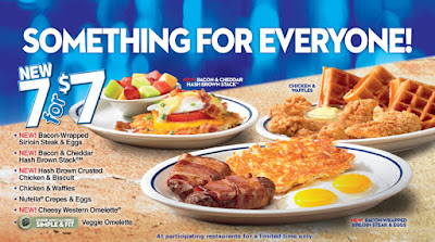 IHOP menu