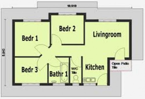 Desain Rumah Minimalis 1 Lantai 3 Kamar Terbaru Blogger Reog