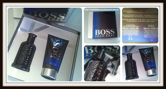 Set de regalo de Boss Bottled Night de Hugo Boss
