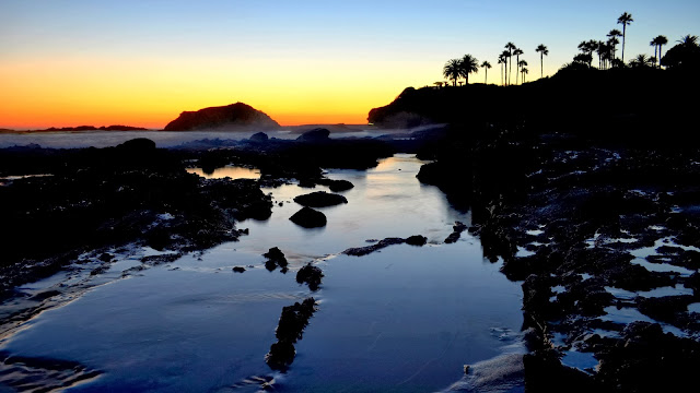 Sunset at Laguna Beach HD Wallpaper