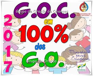 100% de Grupinhos nos Grupos de Oração