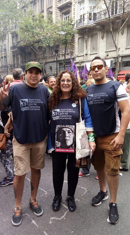 Presentes en la defensa por los derechos humanos