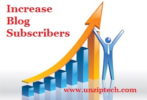 Increase Subscribers