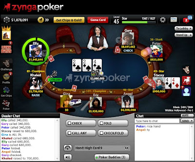 free poker games on facebook