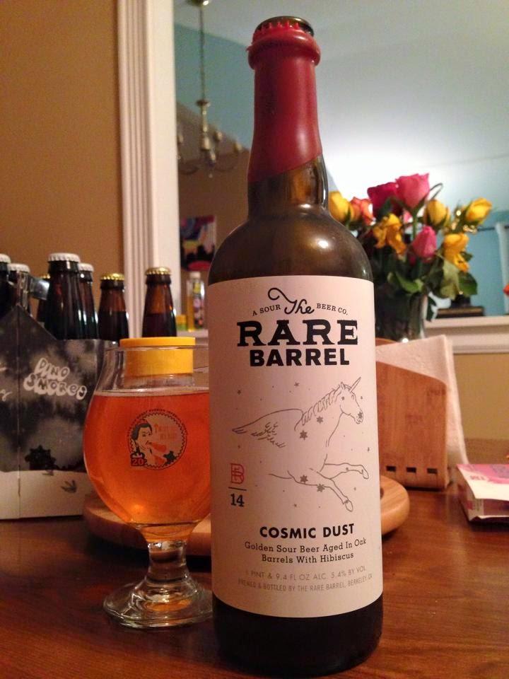 SaBEERmetrics: Beer Review: Cosmic Dust (Blend #10)
