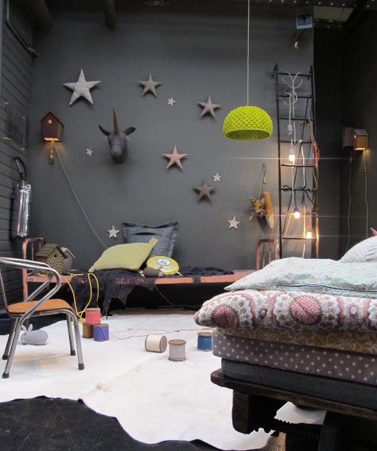 Candela smith estrellas - Telas decorativas para paredes ...