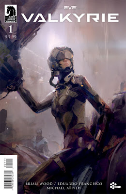 Cover of EVE: Valkyrie #1, courtesy of Dark Horse Comics
