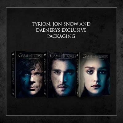 portadas dvd personajes - Juego de Tronos en los siete reinos