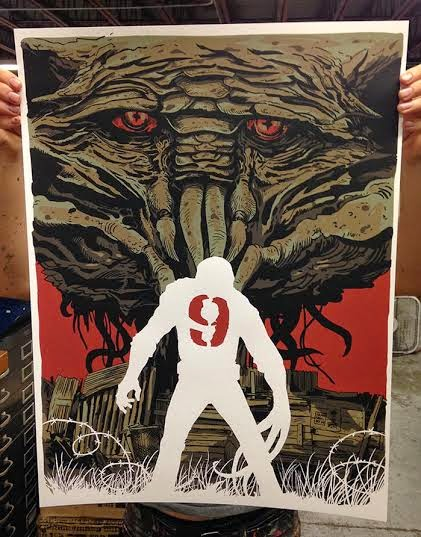 District 9 Screen Print by Francesco Francavilla