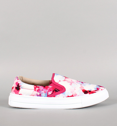 http://www.urbanog.com/Qupid-Watercolor-Floral-Fabric-Slip-On-Sneaker_100_53863.html