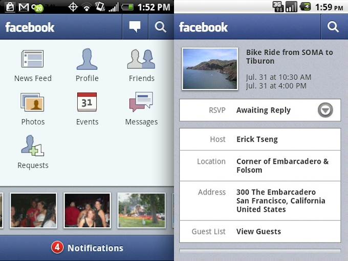 android facebook download
